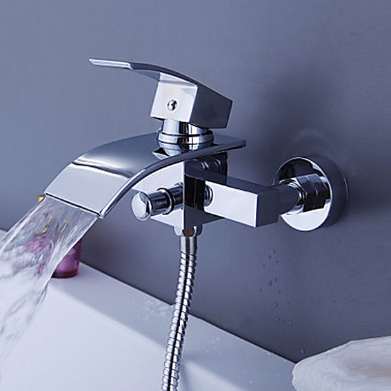 Arian Iris Waterfall Bathroom Basin Mixer Amp Bath Shower